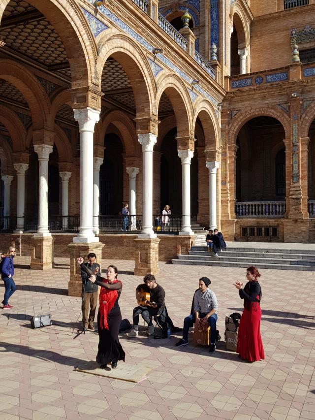 La Plaza de España 3 - Flamenco - © Thia