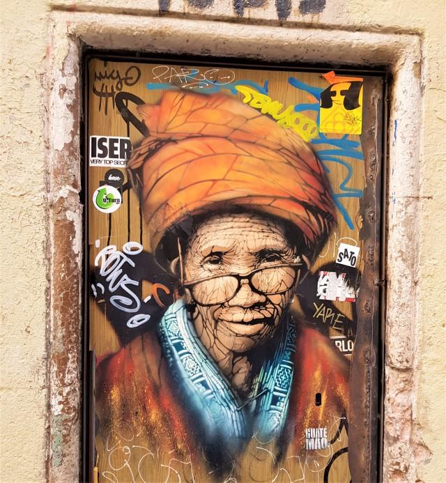 Street art barcelonais (de Guaté Mao) - © Thia