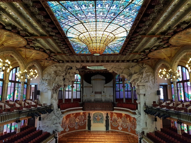 Palais de la musique catalane - © Thia