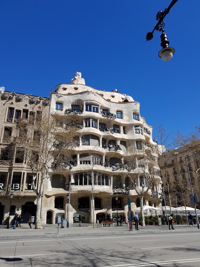 La Casa Mila (de Gaudi) - © Thia